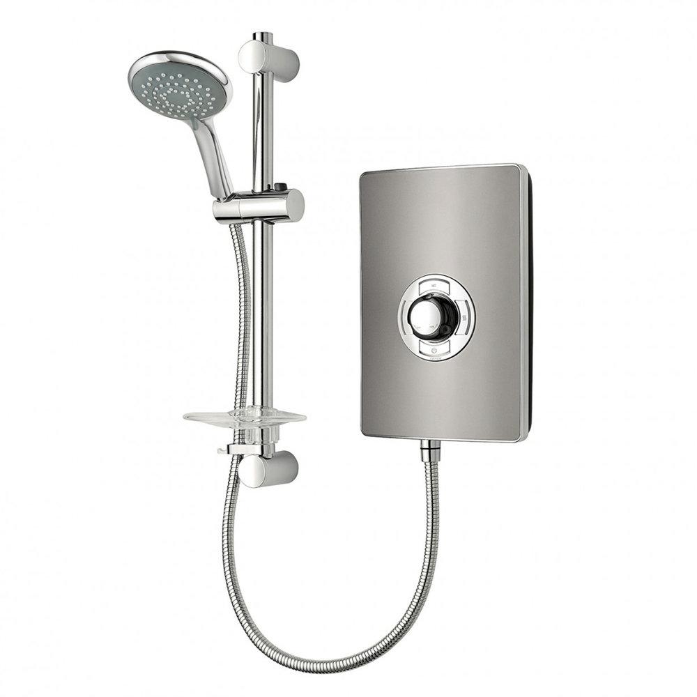 Triton - Aspirante 9.5kw Electric Shower - Gun Metal - ASP09GUNMTL profile large image view 1