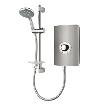 Triton - Aspirante 9.5kw Electric Shower - Gun Metal - ASP09GUNMTL Medium Image