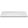 Aurora Stone Resin Bath Replacement Shower Tray 1700 x 700mm profile small image view 1
