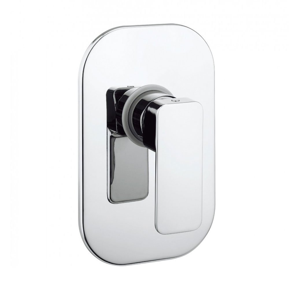Crosswater - Atoll Concealed Manual Shower Valve - AT0004RC profile large image view 1