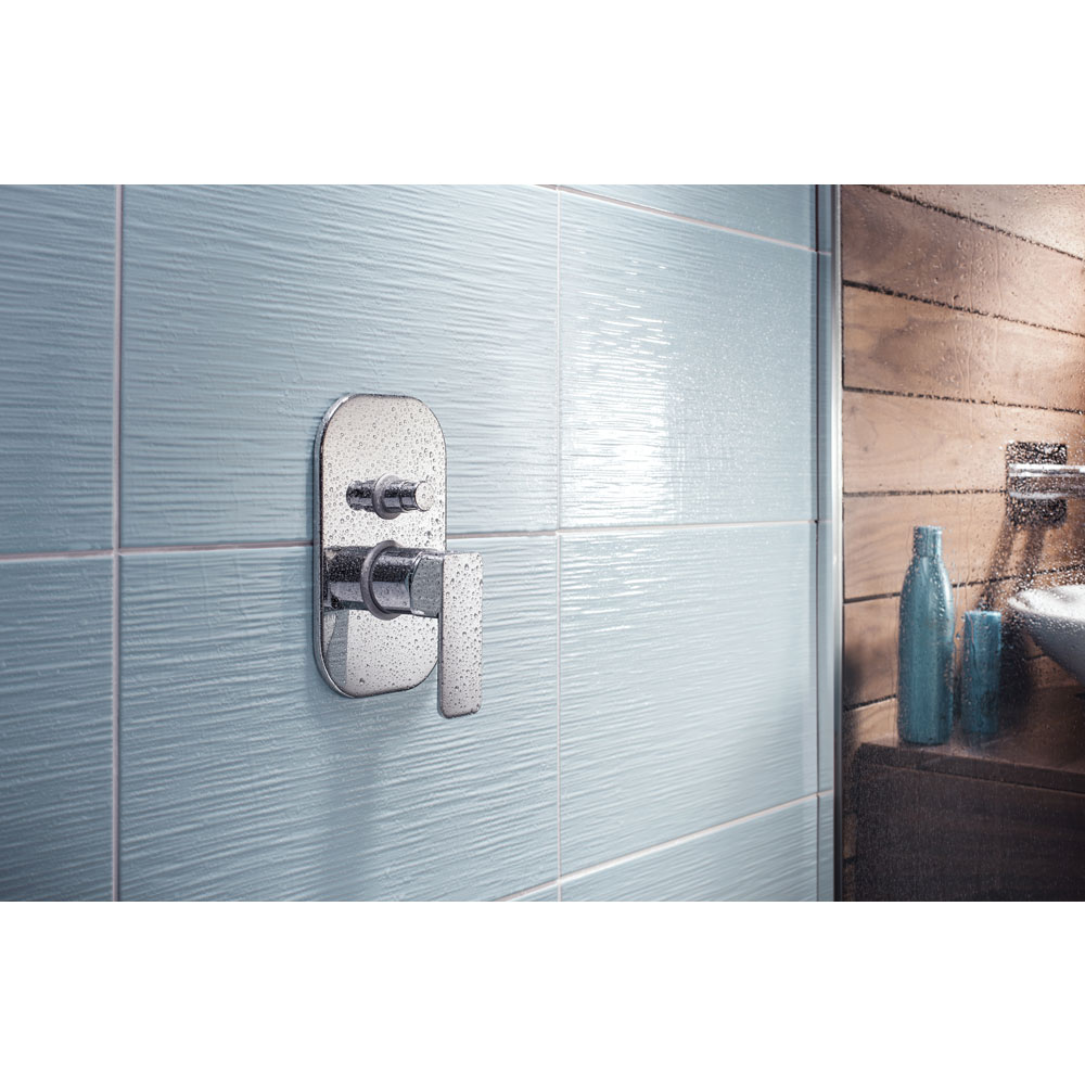 Crosswater - Atoll Concealed Manual Shower Valve with Diverter - AT0005RC profile large image view 2