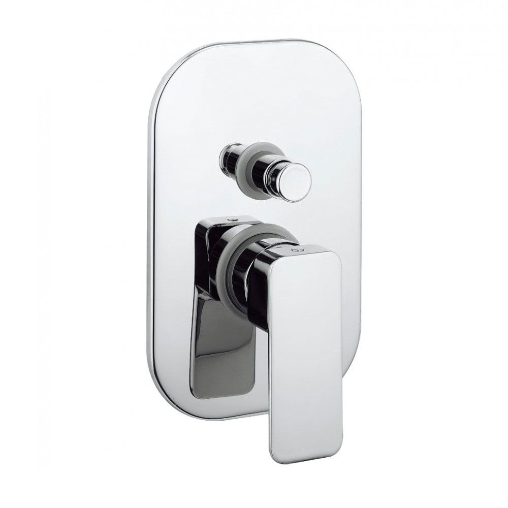 Crosswater - Atoll Concealed Manual Shower Valve with Diverter - AT0005RC Large Image
