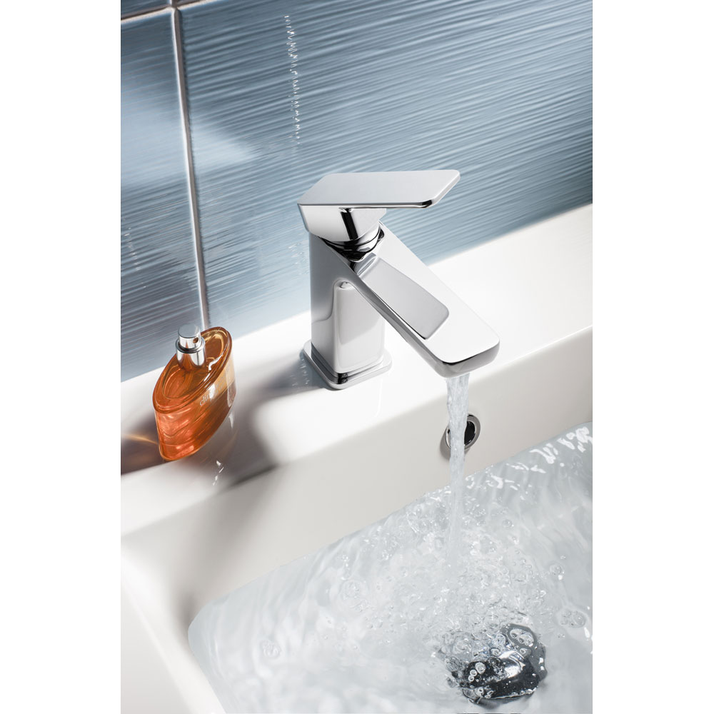 Crosswater - Atoll Monobloc Basin Mixer - AT110DNC Feature Large Image
