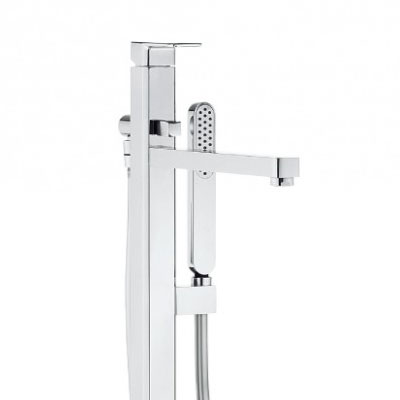 Crosswater - Atoll Floor Mounted Freestanding Bath Shower Mixer - AT416FC Profile Large Image