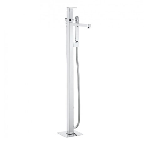 Crosswater - Atoll Floor Mounted Freestanding Bath Shower Mixer - AT416FC