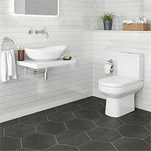 Antonio Modern Bathroom Suite Medium Image