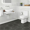 Antonio Modern Bathroom Suite profile small image view 1