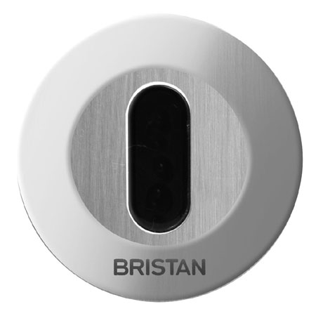 Bristan - Concealed Infrared Automatic Urinal Flush - Battery Powered - AUF-1-C