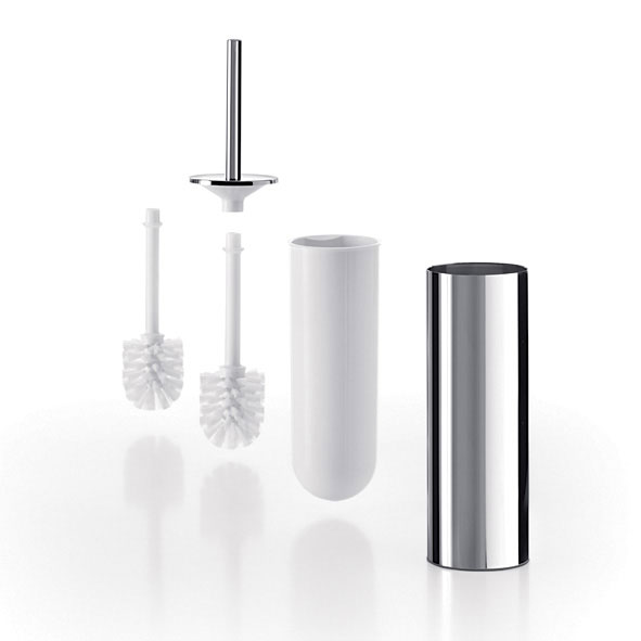 Inda - Touch Mai Love Toilet Brush & Holder with Spare Brush - AV014A profile large image view 1