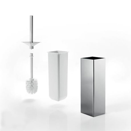 Inda - Lea Mai Way Toilet Brush & Holder - AV114A