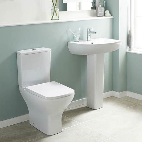Premier Ava 4-Piece Short Projection Bathroom Suite