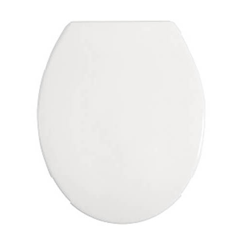 Heritage - White Thermoset Soft Close Seat - AWG101S