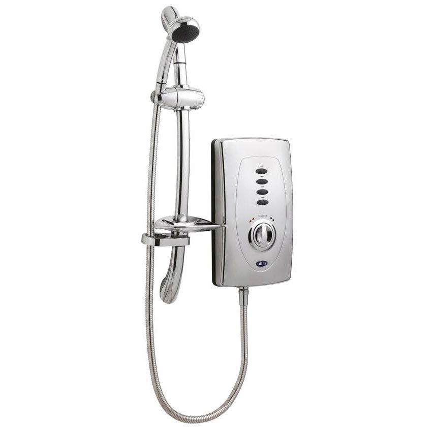 Hudson Reed Chic 650 Slimline Electric Shower - 9.5kW - Chrome - AX310 Large Image