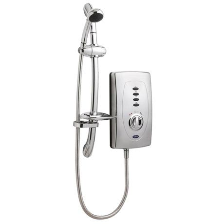 Hudson Reed Chic 650 Slimline Electric Shower - 9.5kW - Chrome - AX310