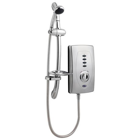 Ultra Chic 650 Slimline Electric Shower - 10.5kW - Chrome - AX311