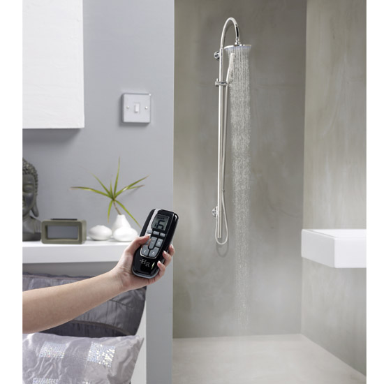 Hudson Reed Remote Digital Shower - Low Pressure - AX323 profile large image view 3