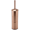 Arezzo Polished Rose Gold Toilet Brush Holder profile small image view 1