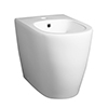Arezzo Back To Wall 1TH Bidet profile small image view 1