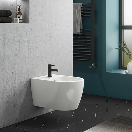 Arezzo Wall Hung 1TH Bidet