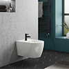 Arezzo Wall Hung 1TH Bidet profile small image view 1