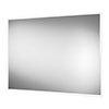 Arezzo 800 x 600mm LED Illuminated Bathroom Mirror with Shaver Socket & Anti-Fog profile small image view 1
