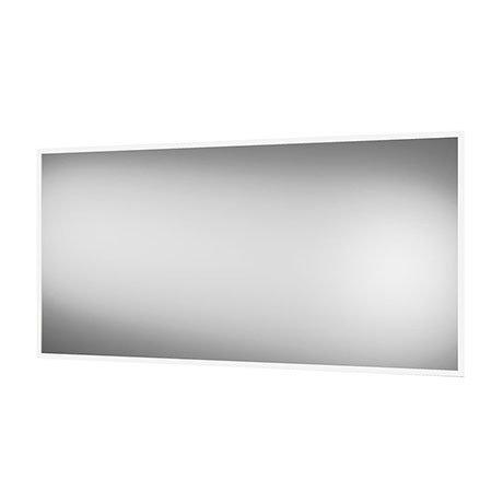 Arezzo 1200 x 600mm LED Illuminated Bathroom Mirror with Shaver Socket & Anti-Fog