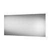 Arezzo 1200 x 600mm LED Illuminated Bathroom Mirror with Shaver Socket & Anti-Fog profile small image view 1