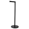 Arezzo Black Free Standing Toilet Roll Holder profile small image view 1