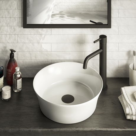 Arezzo Round 355mm Modern Counter Top Basin