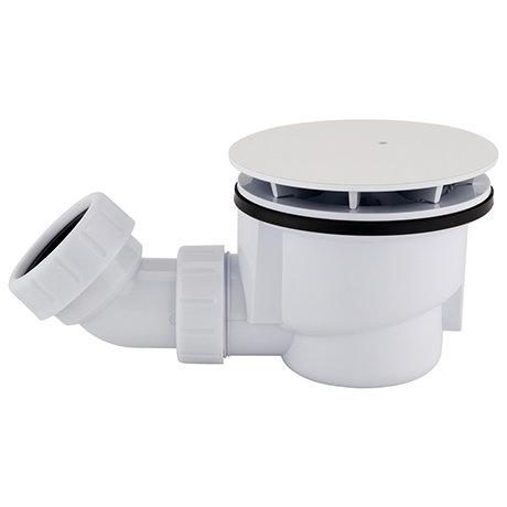 Arezzo Matt White 90mm High Flow Shower Tray Waste