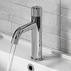 Arezzo Chrome Industrial Style 1-Touch Basin Tap profile small image view 1