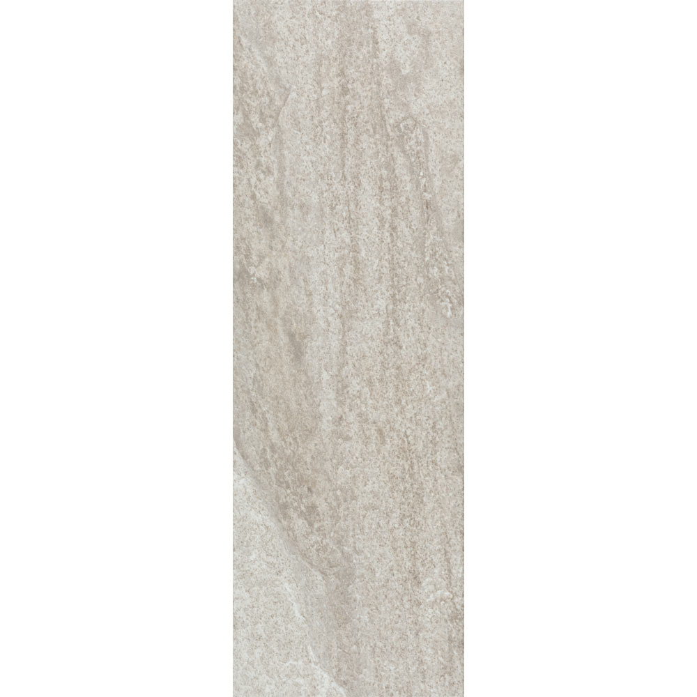 Arezzo Silver Grey Stone Effect Wall and Floor Tiles - 200 x 600mm  Feature Large Image