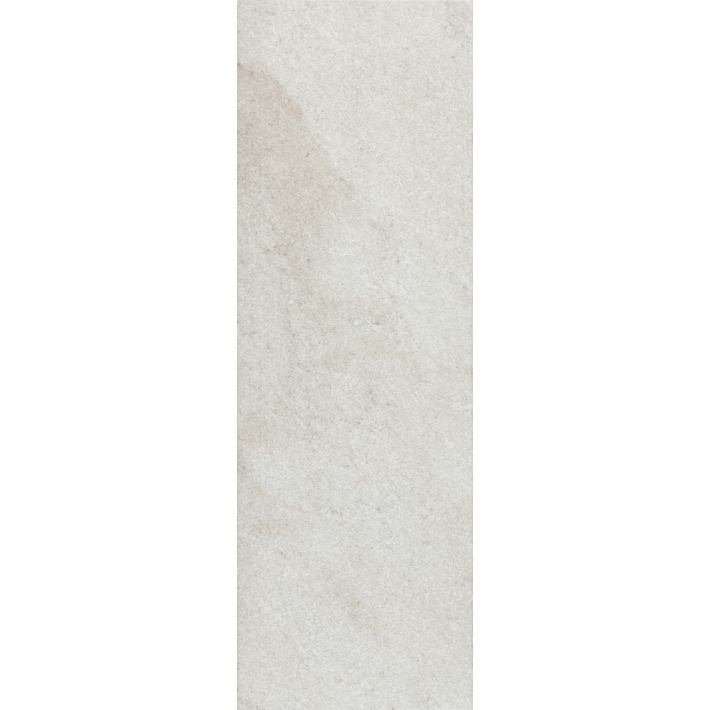 Arezzo Silver Grey Stone Effect Wall and Floor Tiles - 200 x 600mm  In Bathroom Large Image