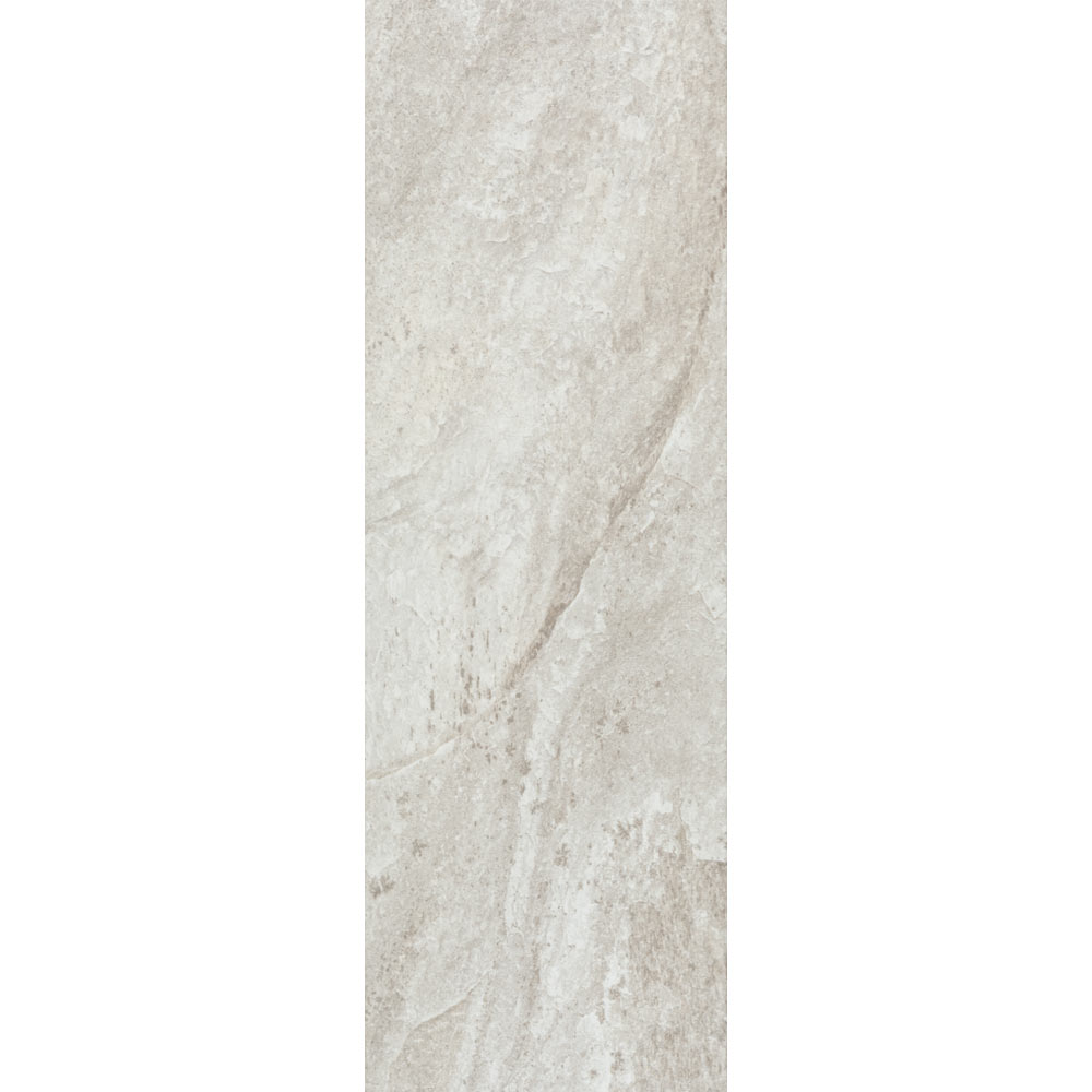 Arezzo Silver Grey Stone Effect Wall and Floor Tiles - 200 x 600mm  Newest Large Image