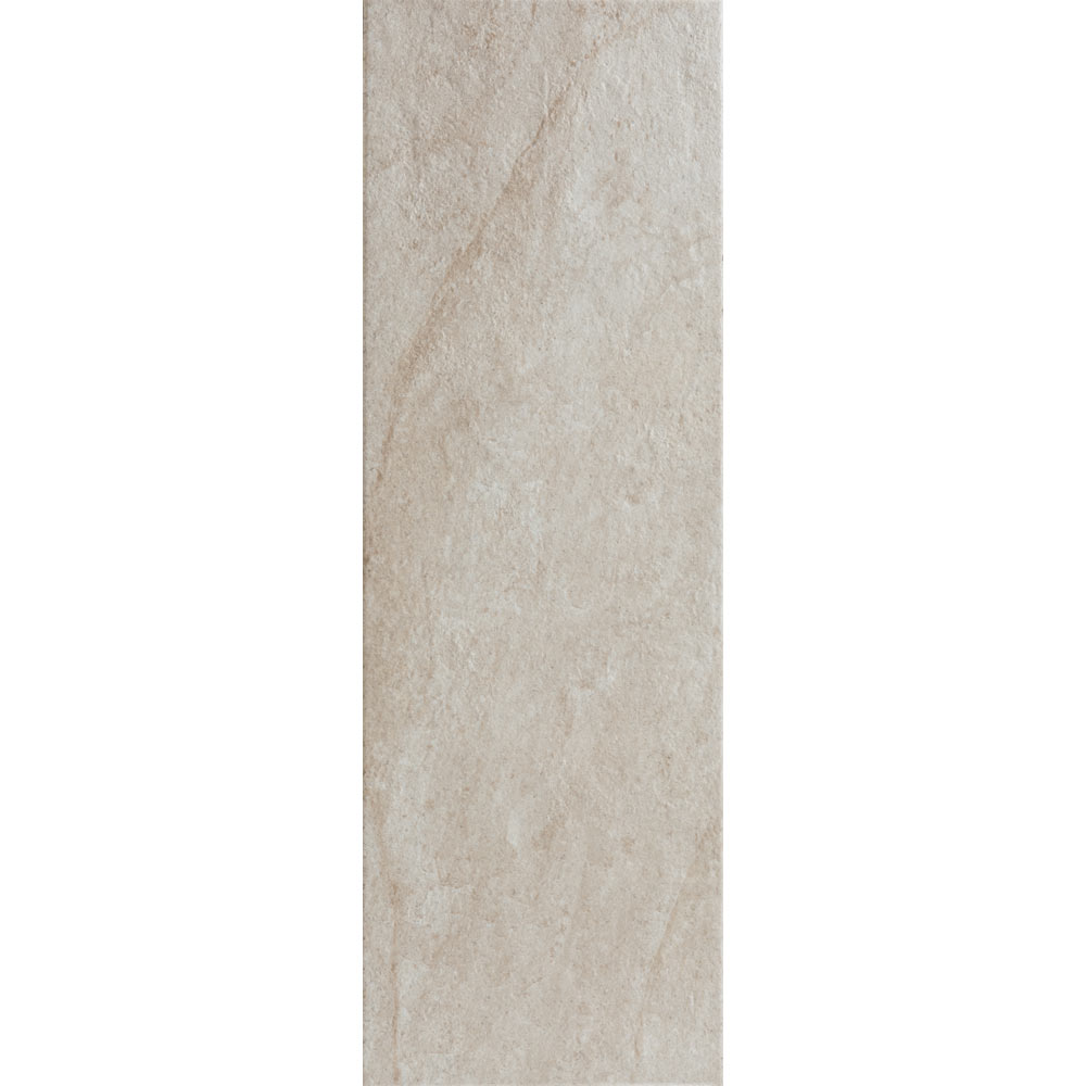 Arezzo White Stone Effect Wall and Floor Tiles - 200 x 600mm  Profile Large Image