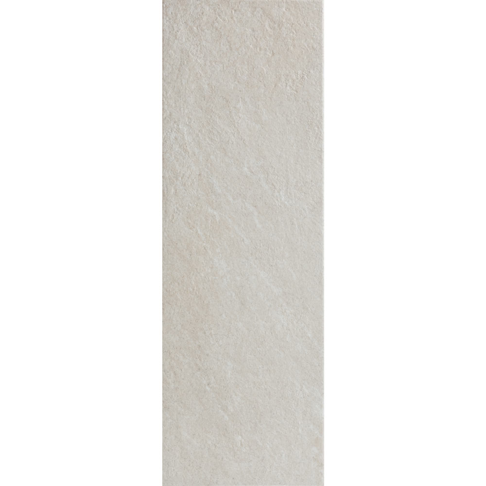 Arezzo White Stone Effect Wall and Floor Tiles - 200 x 600mm Large Image