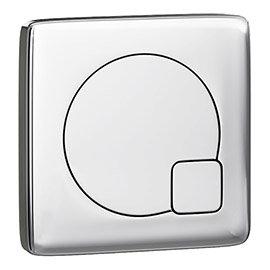 Brooklyn 1000 Gloss White Semi-Recessed Combination Unit (Round Basin, Vanity + WC Unit)