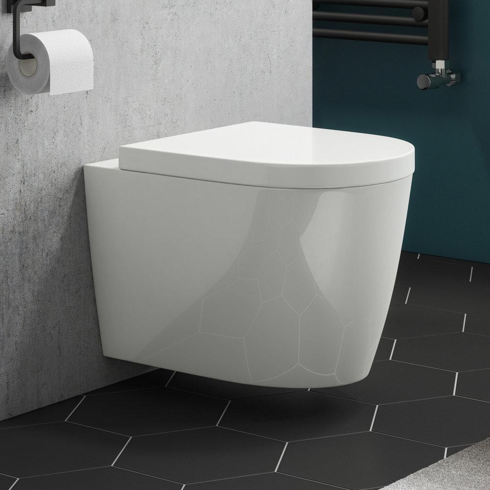 Arezzo Wall Hung Toilet inc. Soft Close Seat