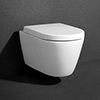Arezzo Wall Hung Toilet Inc. Soft Close Seat profile small image view 1