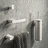 Arezzo Matt White 4-Piece Bathroom Accessory Pack profile small image view 1
