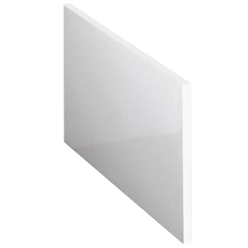 W700 x H515mm Acrylic End Panel for 1500 P Shaped Bath Large Image