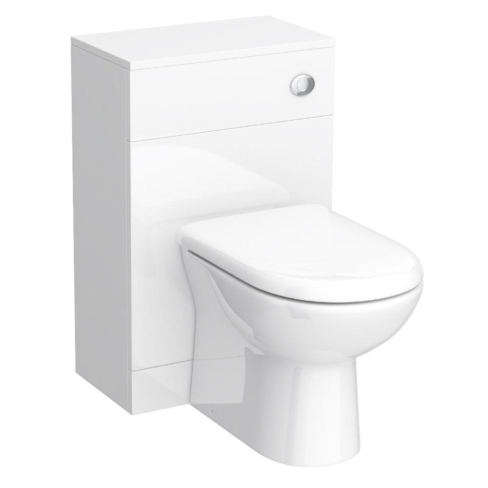 Alaska 1520mm Vanity Unit Bathroom Suite (High Gloss White - Depth 330mm) profile large image view 5