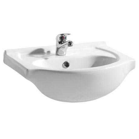 Alaska 450mm Small Semi Recessed Basin