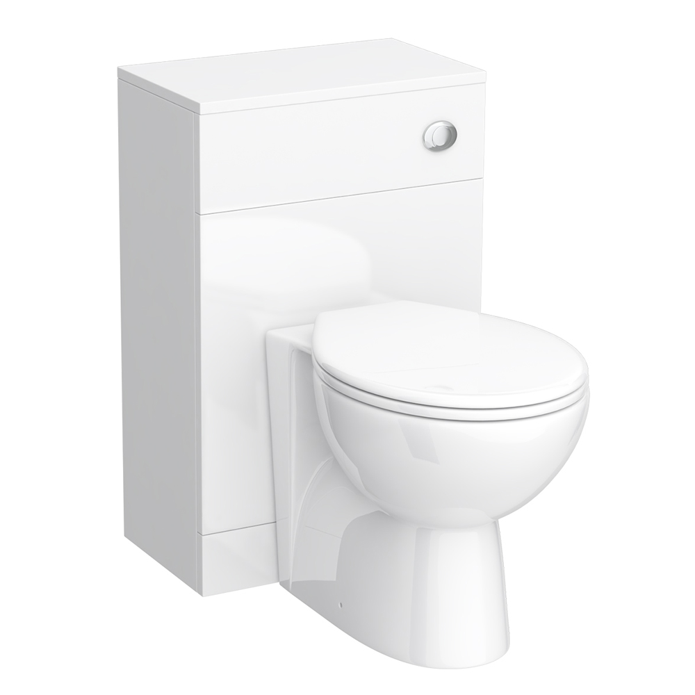 Alaska 500mm BTW Toilet Unit inc Cistern & Standard Pan (Depth 330mm) Large Image