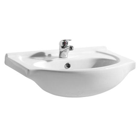 Alaska 550mm Semi Recessed Basin