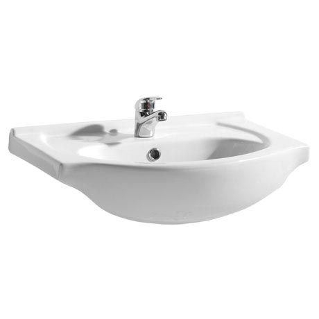 Alaska 650mm Semi Recessed Basin