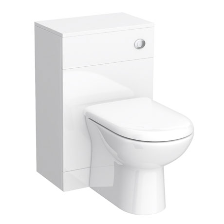 Alaska BTW Toilet Unit Inc. Cistern + Soft Close Seat (Depth 300mm)