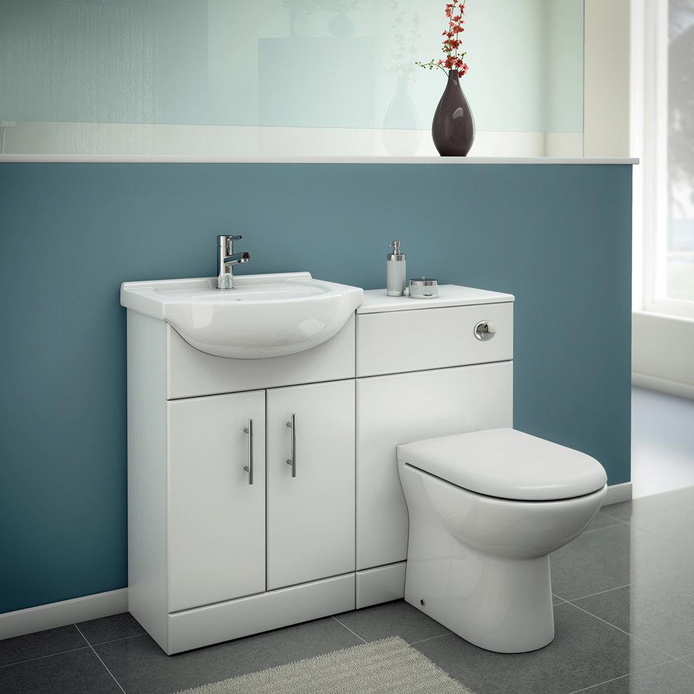 Alaska Back to Wall Toilet Pan + Soft Close Seat profile large image view 3