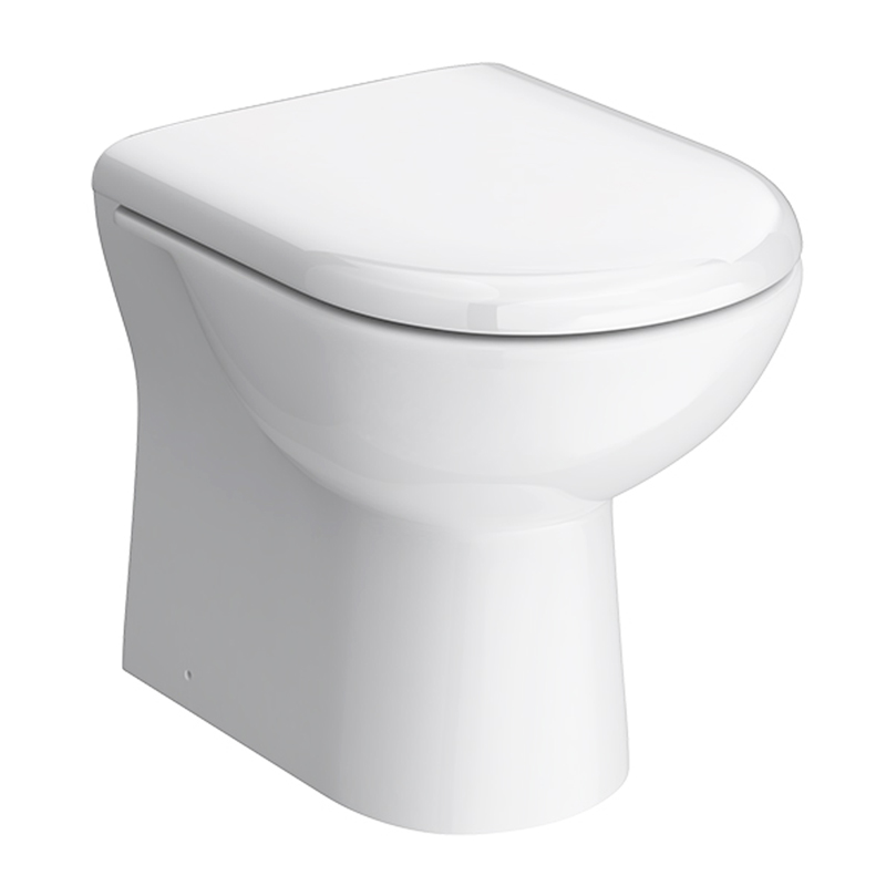 Alaska Back To Wall Toilet Pan Including Soft Close Seat
