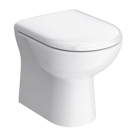 Alaska Back to Wall Toilet Pan inc Soft Close Seat